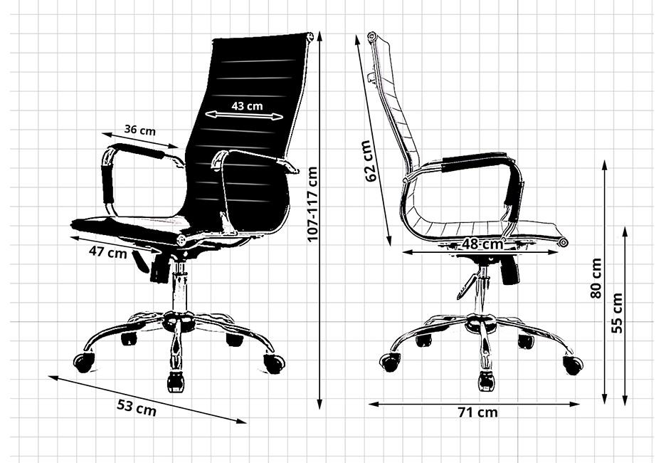 fauteuil si ge de bureau sur roulettes avantgarde r glable noir achat vente chaise de bureau. Black Bedroom Furniture Sets. Home Design Ideas