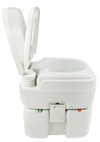 toilette chimique touristique 20l transportable blanc. Black Bedroom Furniture Sets. Home Design Ideas
