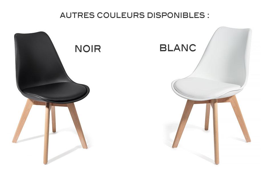 4 chaises brekka design contemporain nordique scandinave for Chaises design en soldes