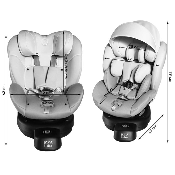 siège auto i-size isofix