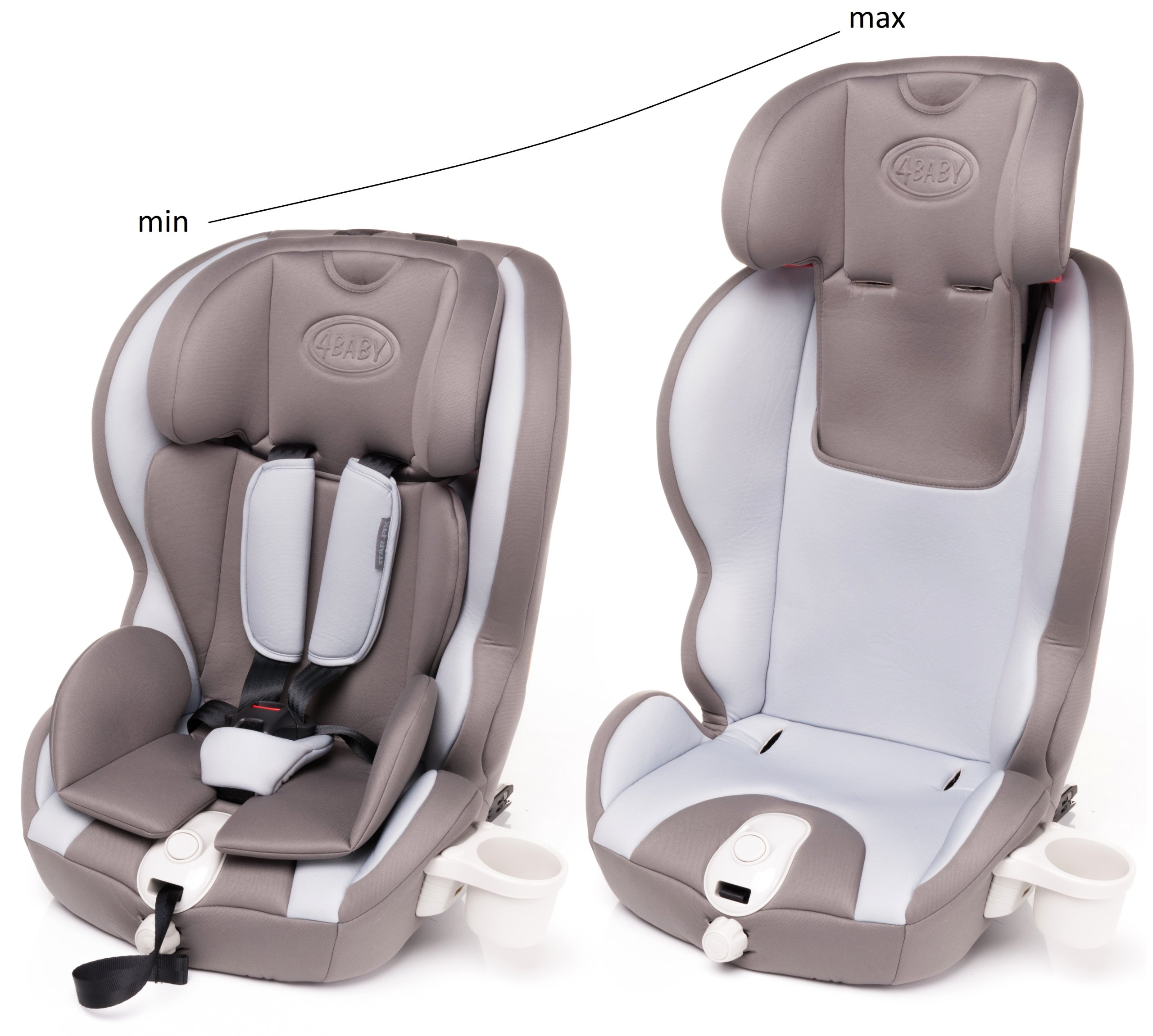 star fix si ge auto isofix 9 36 kg groupe 1 2 3 jw0577 beige conforama. Black Bedroom Furniture Sets. Home Design Ideas