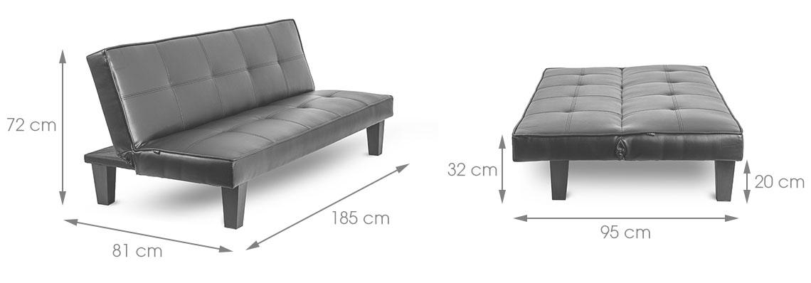 delightful clic clac pour dormir tous les jours 8 delamaison. Black Bedroom Furniture Sets. Home Design Ideas