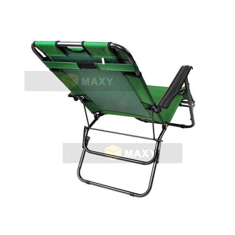 chaise longue transat 3 positions fauteuil pliable jardin piscine plage achat vente chaise. Black Bedroom Furniture Sets. Home Design Ideas